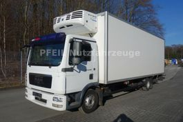 koelwagen vrachtwagen MAN TGL 12.250 Kühlkoffer-Multitemp-TK TS500e-8 Gang 2009
