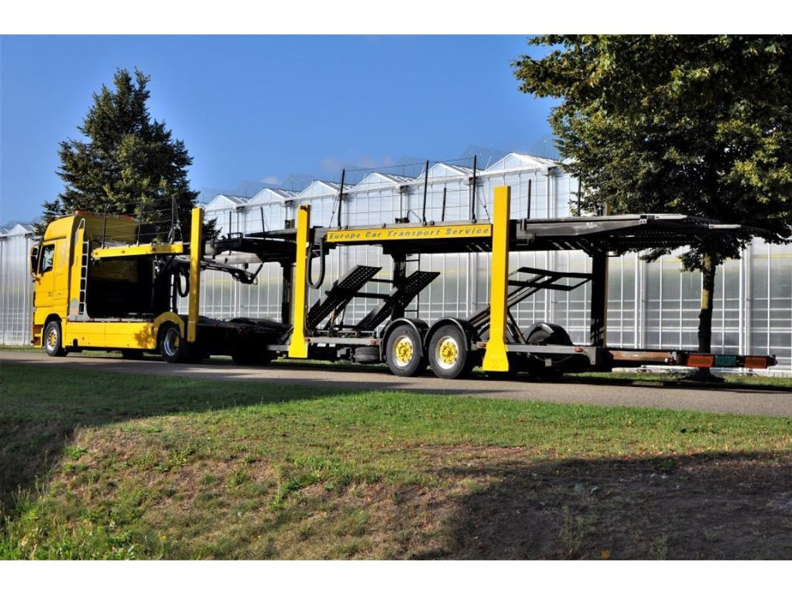 autotransporter vrachtwagen Mercedes Benz Actros 1846 L/NR 4x2  Megaspace Autotransport - Cartransport - Depannage 2007