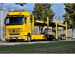 autotransporter vrachtwagen Mercedes-Benz Actros 1846 L/NR 4x2 Megaspace Autotransport - Cartransport - Depannage 2007