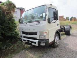 chassis cabine vrachtwagen Mitsubishi Fuso Canter 7 C 18 Fahrgestell Vorführwagen 2020