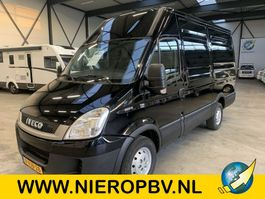 gesloten bestelwagen Iveco 35S13V EURO 4 LD airco 3500kg trekhaak 2010