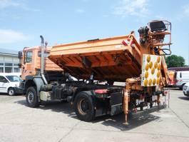 kipper vrachtwagen > 7.5 t MAN Kipper 19.314 4x4 FALK Meiller kran MK 71 R-5.2 1999