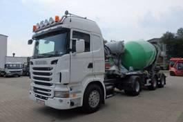betonmixer vrachtwagen Scania R440 4x2 SZM mit Betonmischer Schwing 10 m³