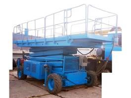 knikarmhoogwerker wiel Upright LX50 (17m diesel 4x4 2002