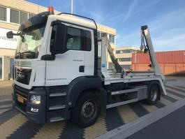 containersysteem vrachtwagen MAN TGS 18.360 4x2 BL Portaalarm 14 ton 2018
