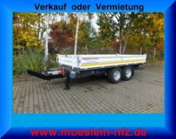 camion à benne basculante > 7.5 t Möslein TTD11 weiß  Tandem Kipper Tieflader-- Neufahrzeug -- 2020