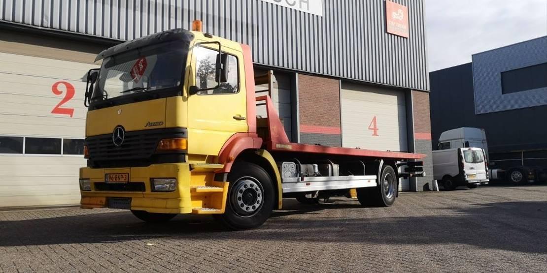 takelwagen-bergingswagen-vrachtwagen Mercedes-Benz Atego deppannage truck 2001