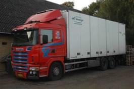bakwagen vrachtwagen Scania R480 R 480 6X2.