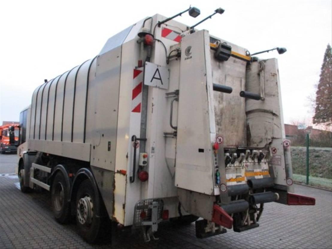 chassis cabine vrachtwagen Mercedes-Benz 2633 6x2 Faun/Klima/Euro4 2007