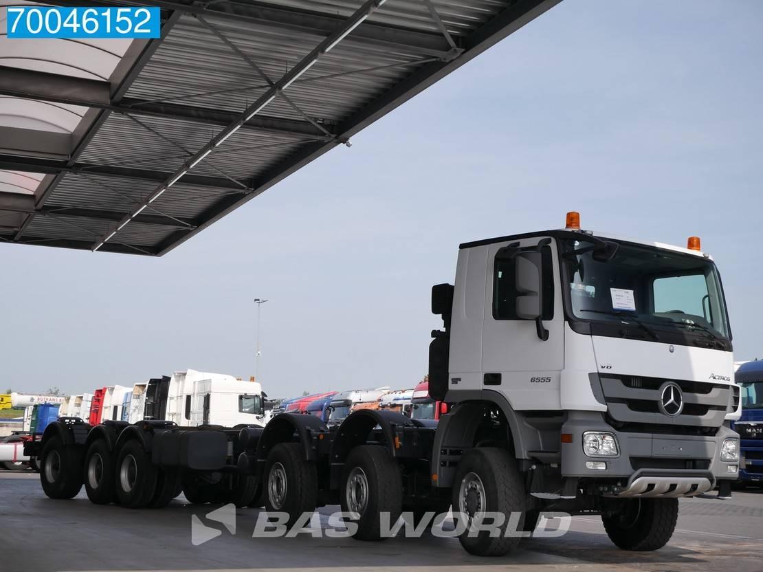betonpomp vrachtwagen Mercedes-Benz 6555 12X6 K NEW Manual V8 Concrete Pump Chassis 2013
