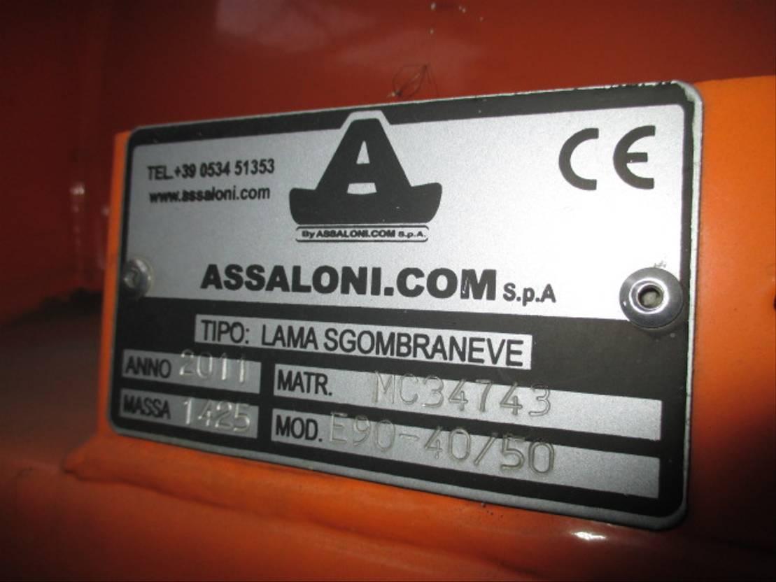 chassis cabine vrachtwagen Bucher E90 40/50 SX Schneepflug 4-5 M. Schmidt NIDO Assaloni 2011
