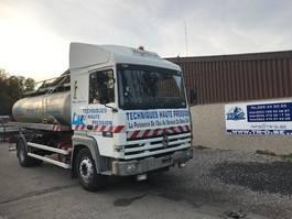 tankwagen vrachtwagen Renault R385 MAJOR CITERNE EN INOX 5 COMP