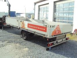 platte aanhanger vrachtwagen Kögel 1 achs offen  luft GG: 4.500 kg TÜV Neu 2010