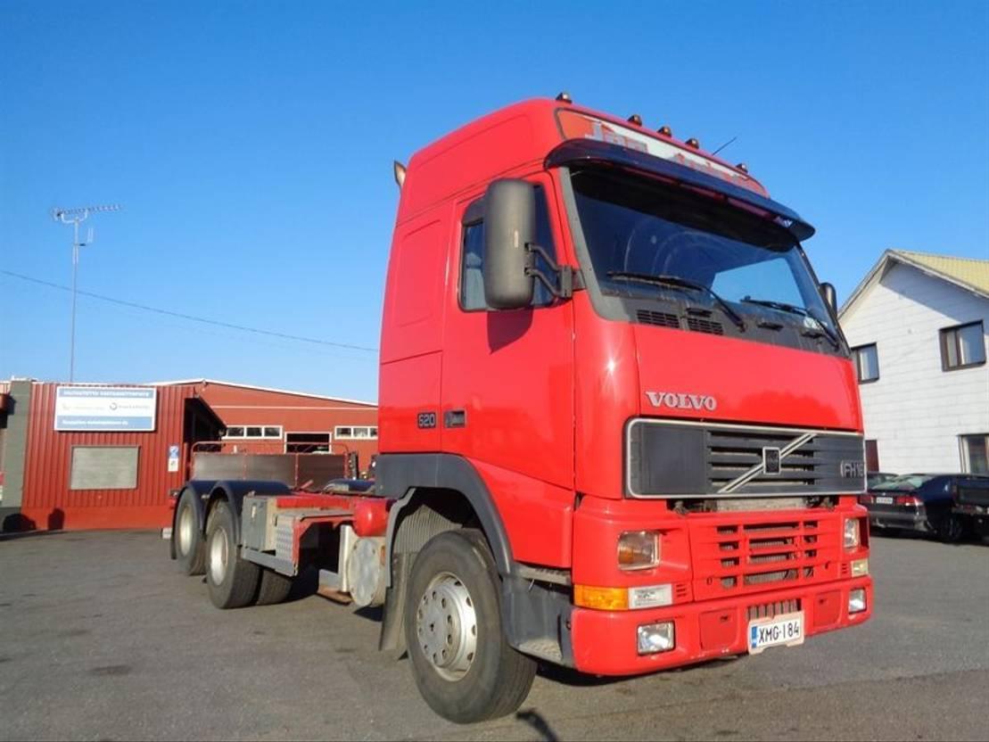 chassis cabine vrachtwagen Volvo FH-16 6X2 4300 1997