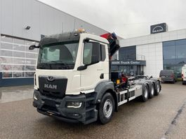 containersysteem vrachtwagen MAN New Generation MAN TGS 35.470 8x4-4 BL-NN kraan+containerhaak 2021