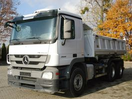 kipper vrachtwagen > 7.5 t Mercedes Benz ACTROS 2644 6x4 EURO5 DSK mit Bordmatik Meiller