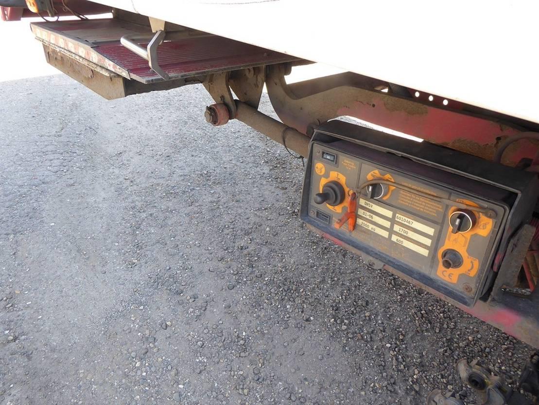 koelwagen vrachtwagen MAN TGA 26.430 6 x 2, euro 4, 2006