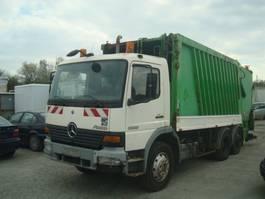 vuilniswagen vrachtwagen Mercedes Benz ATEGO 2528 6x2/Retarder/KLIMA/Nebenantri. 2001