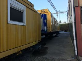 kantoor woonunit container bedrijfs unit Selfsupporting HOME 3X Rarely available - quick sale wanted