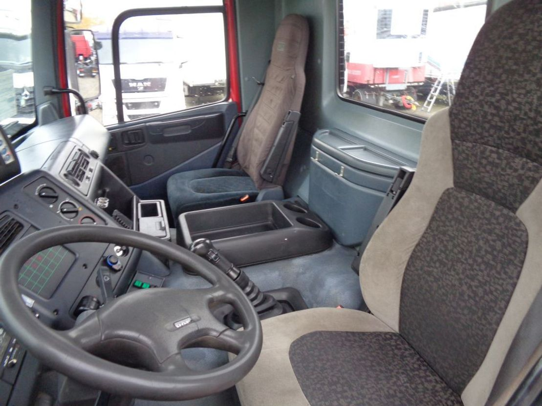 chassis cabine vrachtwagen Ginaf 3233 S M 3233-S EVS 400 + Euro 2 + Manual 1999