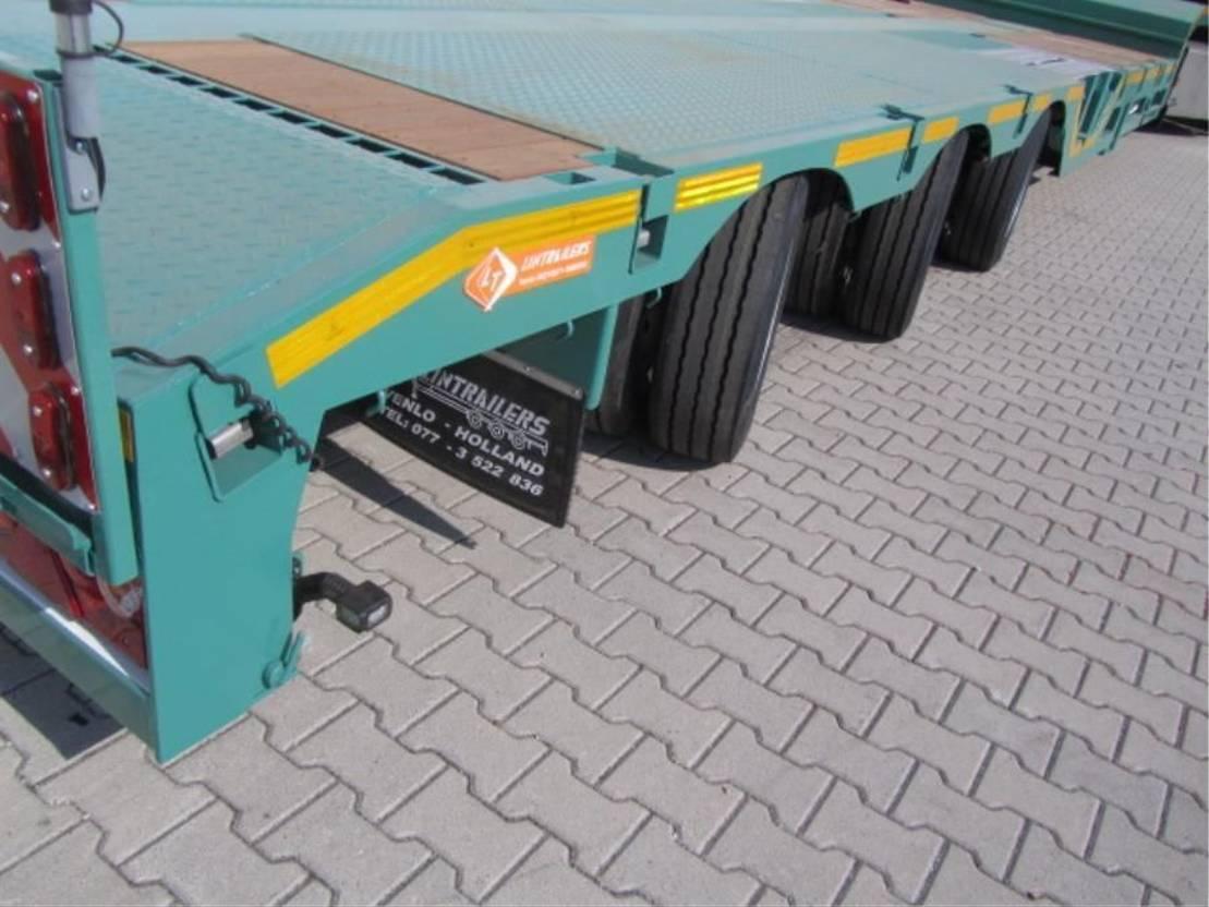 semi dieplader oplegger Lintrailers 3 as Mega 2021