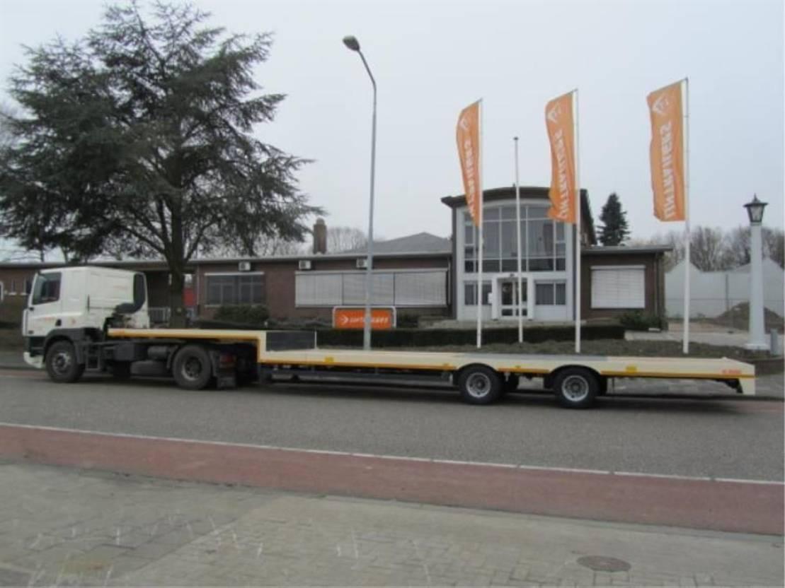 semi dieplader oplegger Lintrailers 2 LSDU 17-20 2021