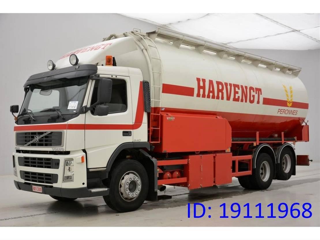 silo vrachtwagen Volvo FM9 340 - 6x2 2002