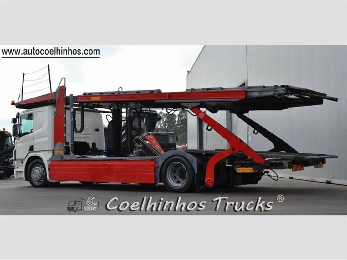 autotransporter vrachtwagen Scania P 420 2009