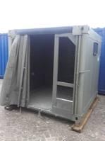dry standaard zeecontainer zeil container