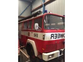 overige vrachtwagens Magirus Deutz 135D12 brandweer 1969