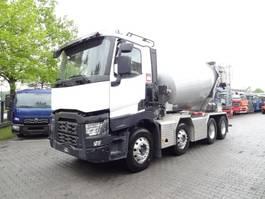 overige vrachtwagens Renault C460 8X4 STETTER AM9 2016