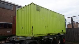 overige containers werkplaats container