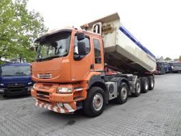kipper vrachtwagen > 7.5 t Renault KERAX 520 10X4 2011