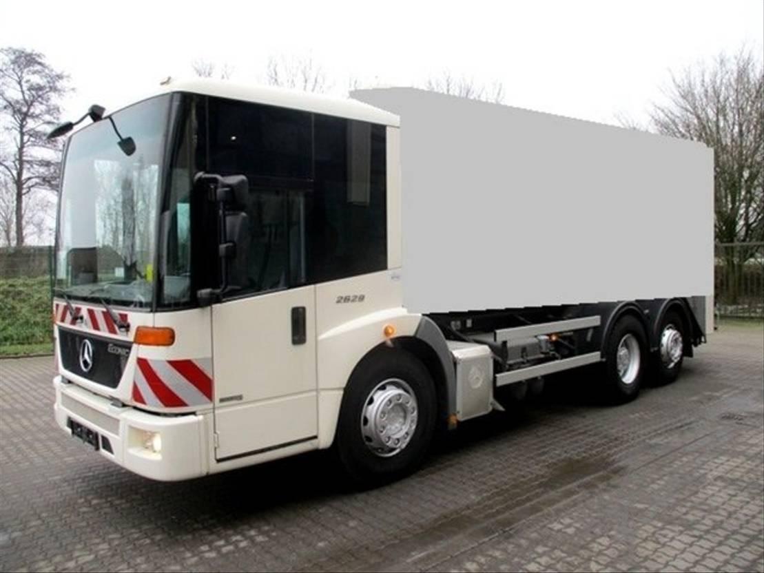 chassis cabine vrachtwagen Mercedes-Benz 2629 6x2 Fahrgestell Euro5 2009