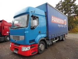 bakwagen vrachtwagen > 7.5 t Renault 320 premium bak met huifzeil 2006