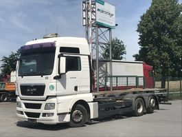 wissellaadbaksysteem vrachtwagen MAN TGX 26.440 FLLNRLenk + Liftachse Hubrahmen - alle Abstellhöhen, Lenkachse 2010