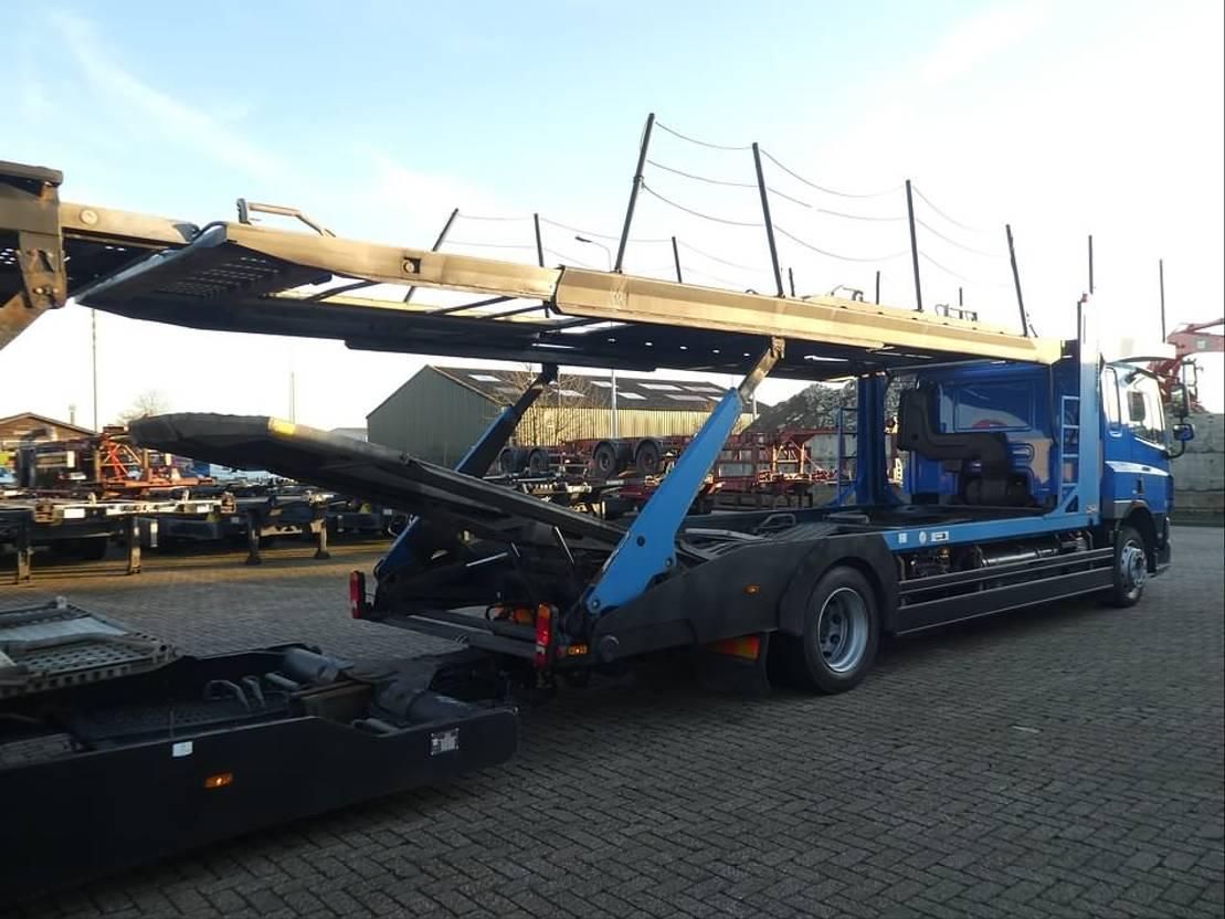 autotransporter vrachtwagen DAF CF 75 lohr 2007
