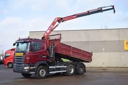 kraanwagen Scania R480 2009