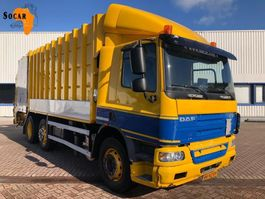 vuilkar camion DAF CF 75 310 Carbage truck 23 M³ Schijndel 2008