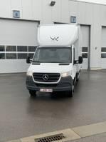 bakwagen vrachtwagen Mercedes-Benz Mercedes Sprinter 516 A + meubelbak en lift AUTOMAAT 2019