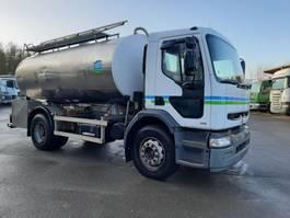 tankwagen vrachtwagen Renault Premium 270 4X2 AVEC CITERNE EN INOX ISOTHERME 2000