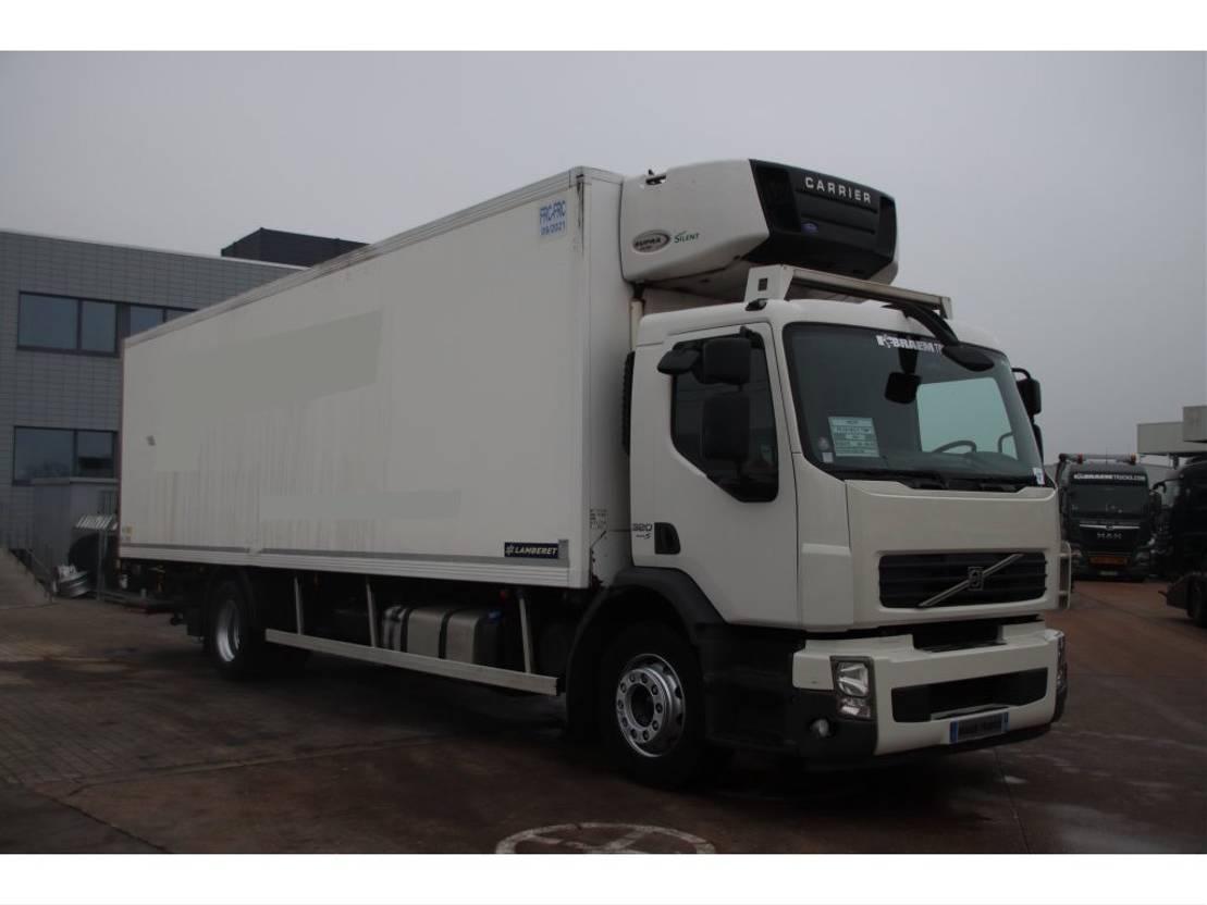 koelwagen vrachtwagen Volvo FE 320 320+euro 5+LAMBERERT 20P+CARRIER 950MT+DHOLLANDIA 2.5T 2009