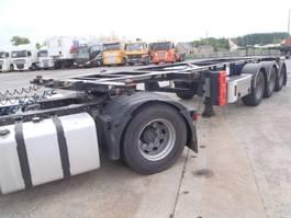container chassis oplegger Van Hool 20' 30 ' voet adr 2014
