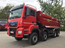 open laadbak vrachtwagen MAN TGS 35.460 8x6 EURO6 Muldenkipper TOP! NEU!