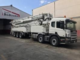 betonpomp vrachtwagen Scania 124L 420HP JUN-JIN M-55.17 2005