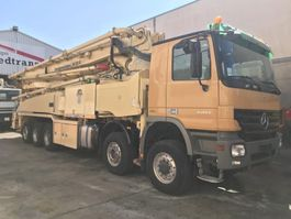 betonpomp vrachtwagen Mercedes-Benz Actros 5051 Putzmeister 52-5 BSF ** TOP ** 2009