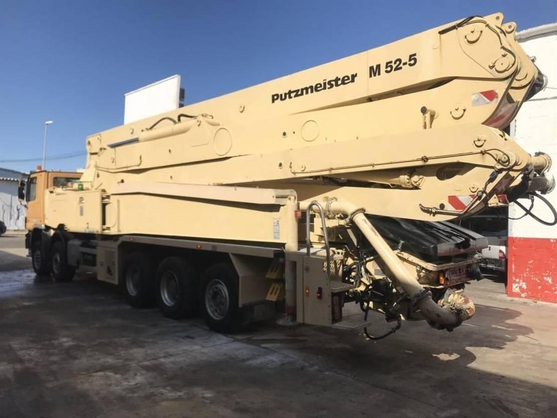 betonpomp vrachtwagen Diversen Actros 5051 Putzmeister 52-5 BSF ** TOP ** 2009