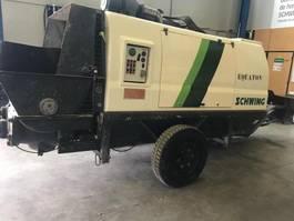 betonpomp vrachtwagen div Bomba de hormigón estacionaria Schwing SP 1800 2010