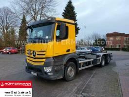 containersysteem vrachtwagen Mercedes Benz Antos 2540 6x2 Euro6 Multilift XR21 Abrollkipper 2019