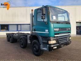chassis cabine vrachtwagen DAF CF 85.430 8X4 (full steel) 2002